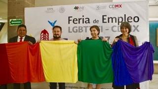 Ofertarán 25 empresas 320 vacantes en Feria de Empleo para Comunidad LGBTTTI en CDMX