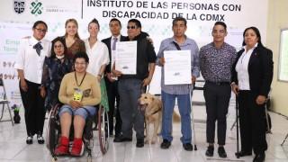 La STyFE otorga empleos temporales a personas con discapacidad