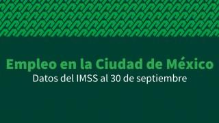 Ciudad de México registra mayor creación de empleos formales en septiembre