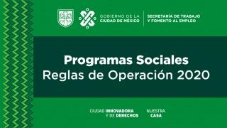 Publicadas las Reglas de Operación de los Programas Sociales de la STYFE para el 2020