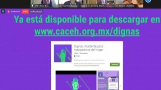 """Trabajadoras del Hogar presentan app que funcionará como """"asistente legal"""""""